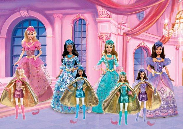 Bebek ve çocuklar için en güzel oyuncaklar barbie uc silahsorler 2