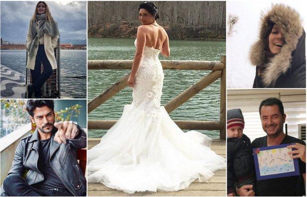 Ünlülerin Instagram paylaşımları (11 Ocak - 18 Ocak 2015)