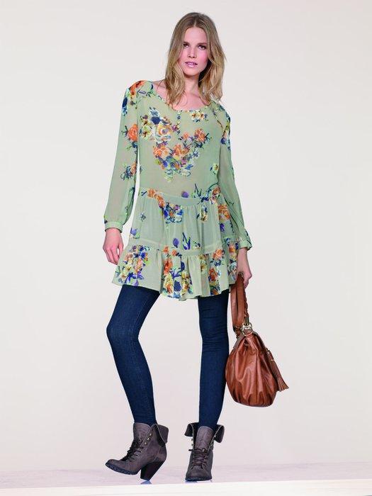 Moda bluzlar yaz 2011 yazında 15