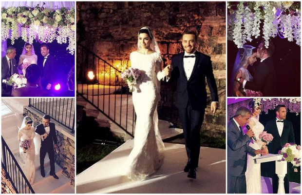Merve Boluğur ve Murat Dalkılıç'ın düğün fotoğrafları merve bolugur murat 1