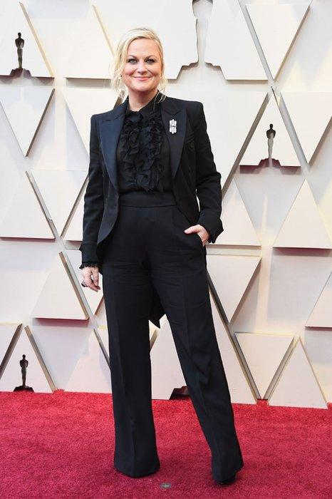 Oscar 2019 Kırmızı Halı Görünümleri Amy Poehler