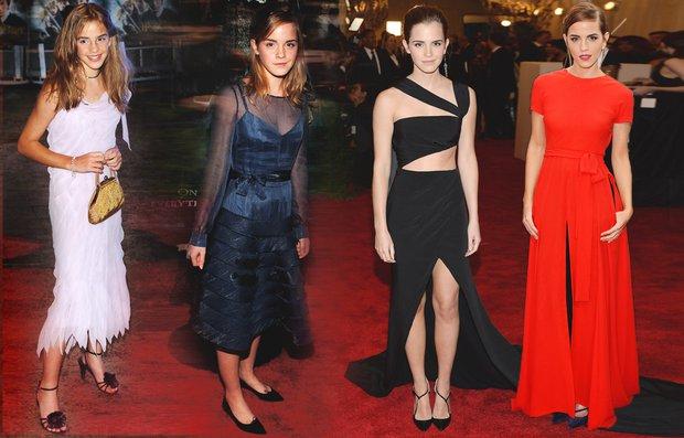 Emma Watson'ın inanılmaz değişimi pudra emma watson 1