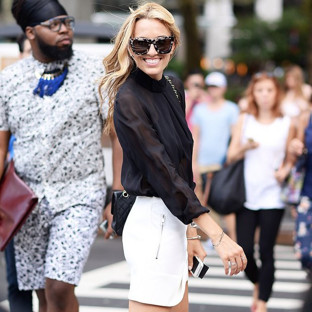 2015 New York Moda Haftası sokak stilleri 3 new york 1