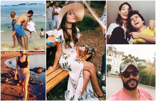 Ünlülerin Instagram paylaşımları (15 Ağustos - 22 Ağustos 2016)