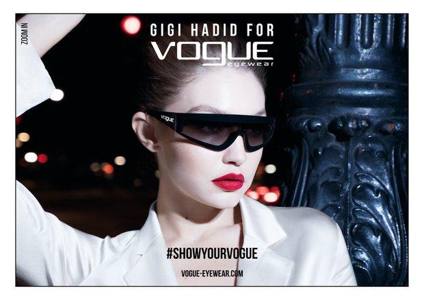 gigi hadid vogue eyewear spring 2019 campaign 2
