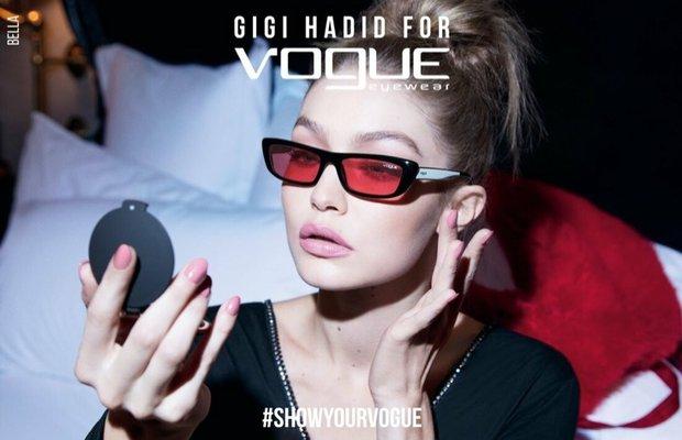 gigi hadid vogue eyewear spring 2019 campaign 1