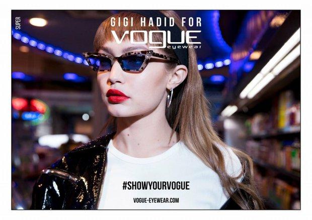 gigi hadid vogue eyewear season iii campaign 2019 5