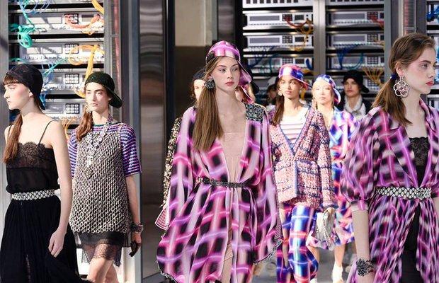 Chanel'in robotları modayı ele geçirdi 1